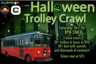 Halloween Trolley Crawl