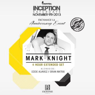 Inception ft. Mark Knight: Main Image