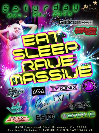 Eat, Sleep, RAVE MassivE 18+: Main Image