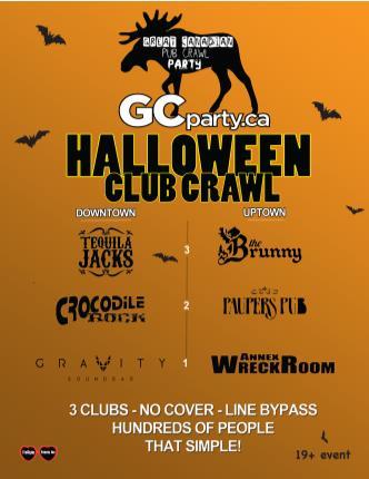 Halloween Pub Crawl 2013 TO UP