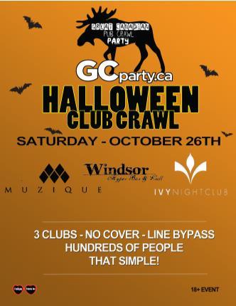 Halloween Pub Crawl 2013 - MTL
