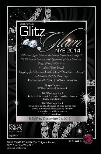 3rd Annual Glitz Glam NYE 2014