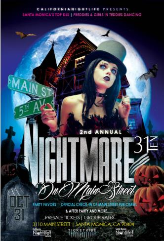 2nd Annual Nightmare on Main S