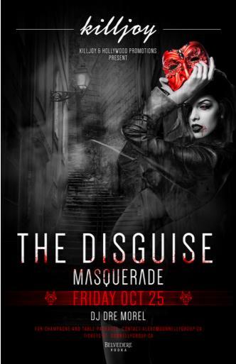 THE DISGUISE MASQUERADE