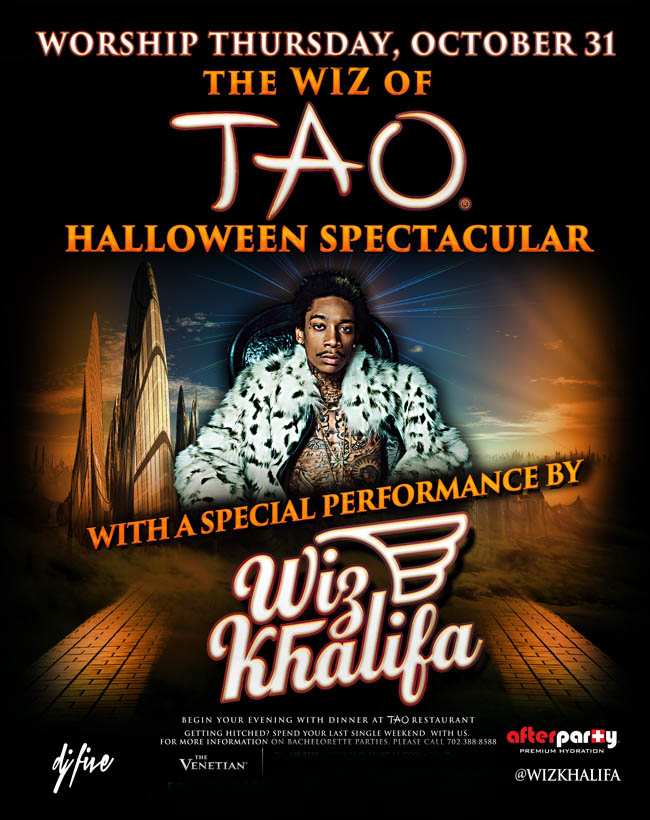 Wiz Khalifa The Wizard of Halloween Spectacular
