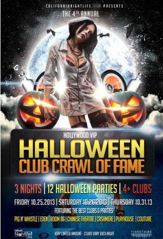 Halloween Club Crawl of Fame