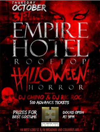 Halloween At Empire Rooftop