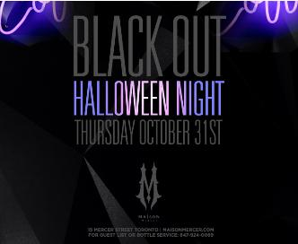 Blacklight Halloween Night