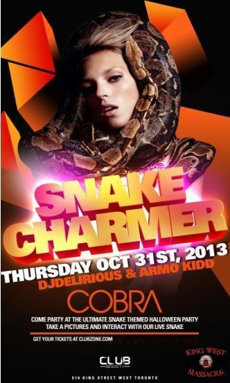 Snake Charmer- LIVE SNAKES