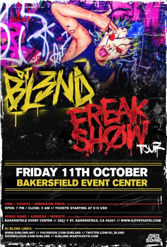 DJ Bl3nd Freakshow (Sugar): Main Image