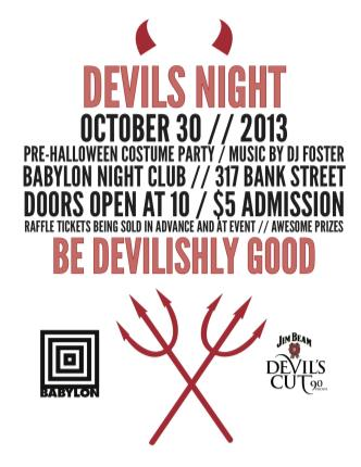 Devils Night Party