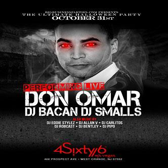 Don Omar Performing at 4Sixty6