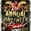 8th ANNUAL  HALLOWEEN BASH
