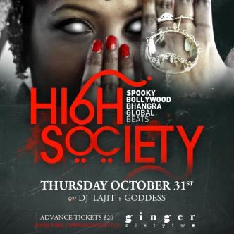 High Society Halloween