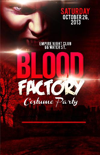 Blood Factory Costume Party