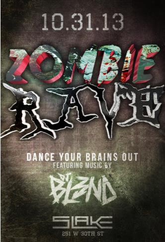 Zombie Rave featuring DJ BL3ND