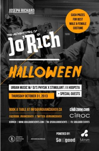 JoRich Halloween Party