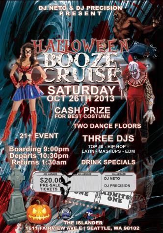 Halloween Booze Cruise 2013