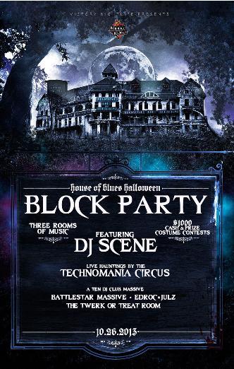 HOB Halloween Block Party