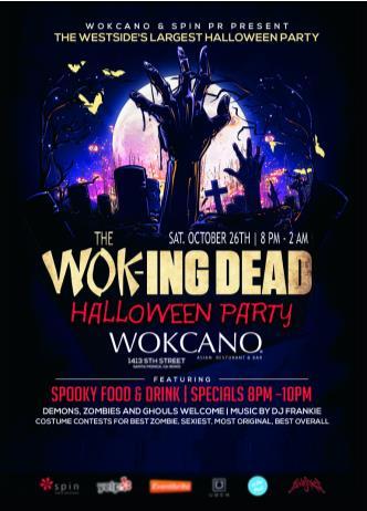 WOK-ing DEAD Halloween Ball