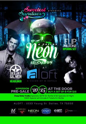 A Dallas Neon Halloween