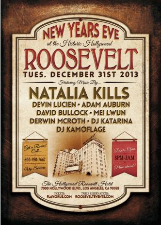 NYE at The Roosevelt: Main Image