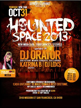 Haunted Space 2013