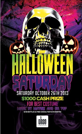 HALLOWEEN SATURDAY @ OHSO