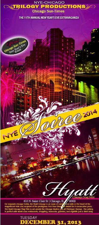 NYE 2014 - Hyatt Mag Mile