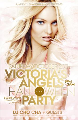 VICTORIA'S ANGELS HALLLOWEEN