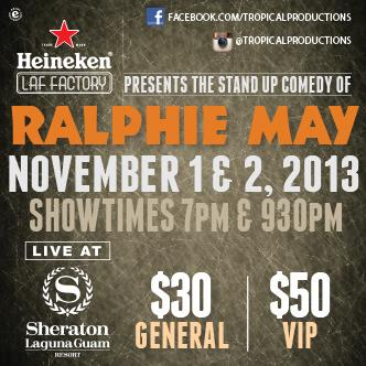 RALPHIE MAY VIP Tickets: Main Image