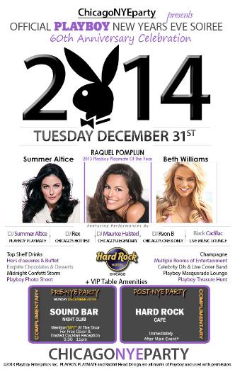 NYE 2014 - Official Hard Rock Hotel & Playboy NYE Cebration