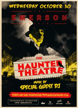 THE HAUNTED THEATRE: Main Image