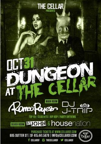 Dungeon at The Cellar!