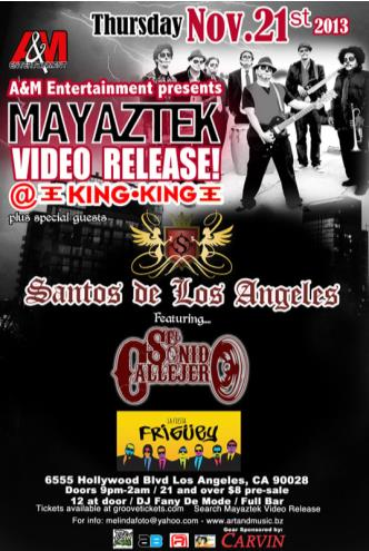 MAYAZTEK VIDEO RELEASE: Main Image