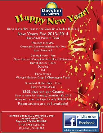 New Years Eve Bash Cleveland: Best Adult Party 2013 2014