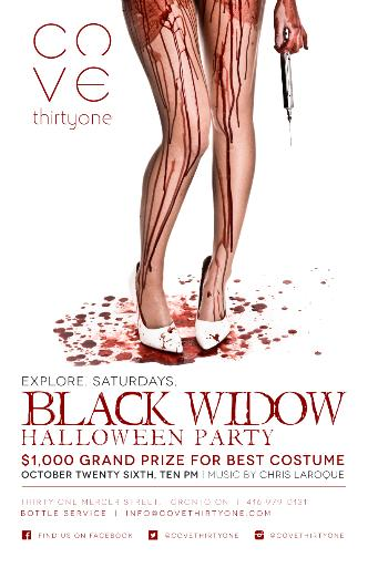The Black Widow Halloween