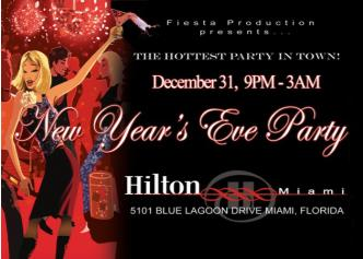 Hilton Miami New Years Eve