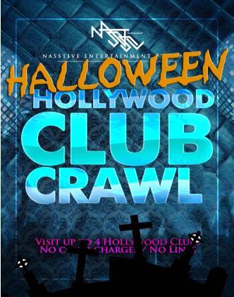 Halloween ClubCrawl- 4 venues!