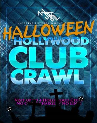 Halloween Club Crawl to Blvd3