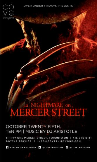 A Nightmare on Mercer Street
