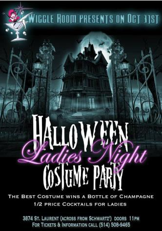 Halloween Ladies Night Party