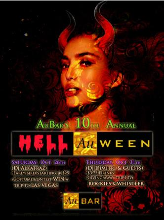 AuBAR Hell-Au-ween :: Thursday