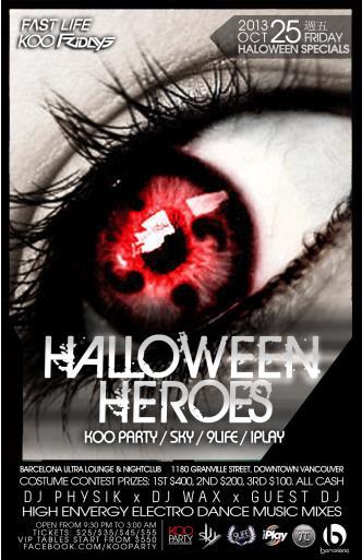 0 HALLOWEEN HEROES 0FRI.10/25