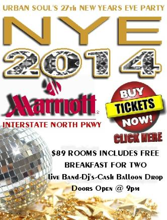 Urban Soul's 27th NYE Party