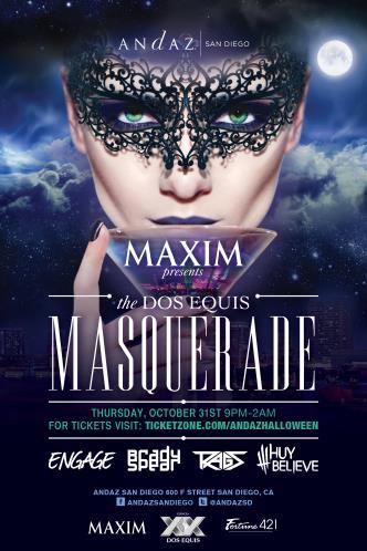 Maxim Masquerade