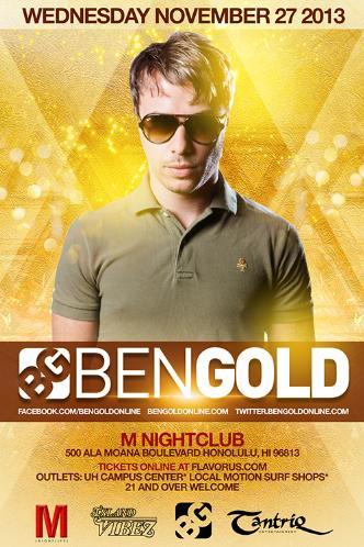 Ben Gold: Main Image