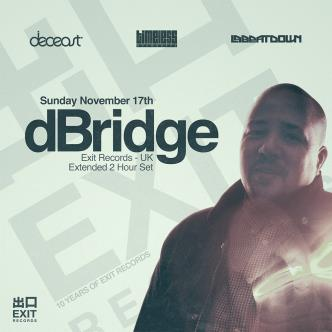 dBridge: 10 Years of Exit Tour: Main Image