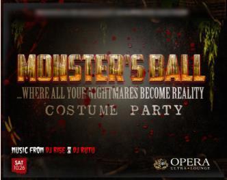 Opera's Monsters Ball 2013