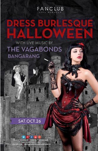 Halloween w/ The Vagabonds
